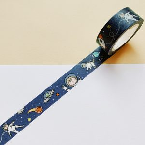 Washi tape - outer space - Marloes De Vries